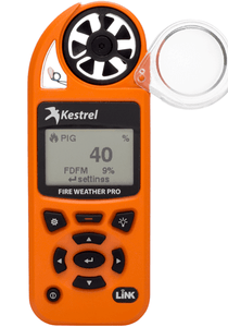 Kestrel 5500FW Fire Weather Meter Pro with LiNK front view