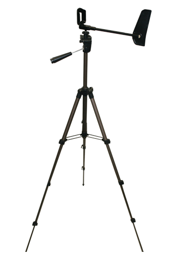 Compact Collapsible Tripod with Vane & Mount - 1000-3000 Series