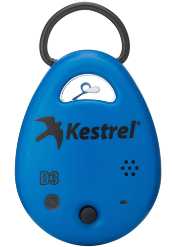 Kestrel DROP D3 Wireless Temperature, Humidity & Pressure Data Logger (compatible with iOS & Android) Front View