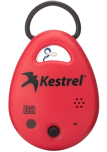 Kestrel DROP D2 Wireless Temperature & Humidity Data Logger (compatible with iOS & Android) front view