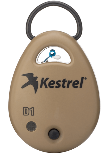 Kestrel DROP D1 Wireless Bluetooth Temperature Data Logger (compatible with iOS & Android) front view