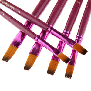 Painting Accesories - Exquisite Wooden Paintbrush Set (24 Pcs)