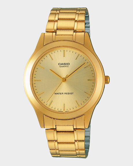 Casio Collection Gold Tone Men's Watch MTP-1128N-9A
