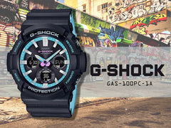 CASIO G-SHOCK GAS-100PC-1ADR