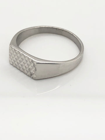 Gents Sterling Silver Ring 006