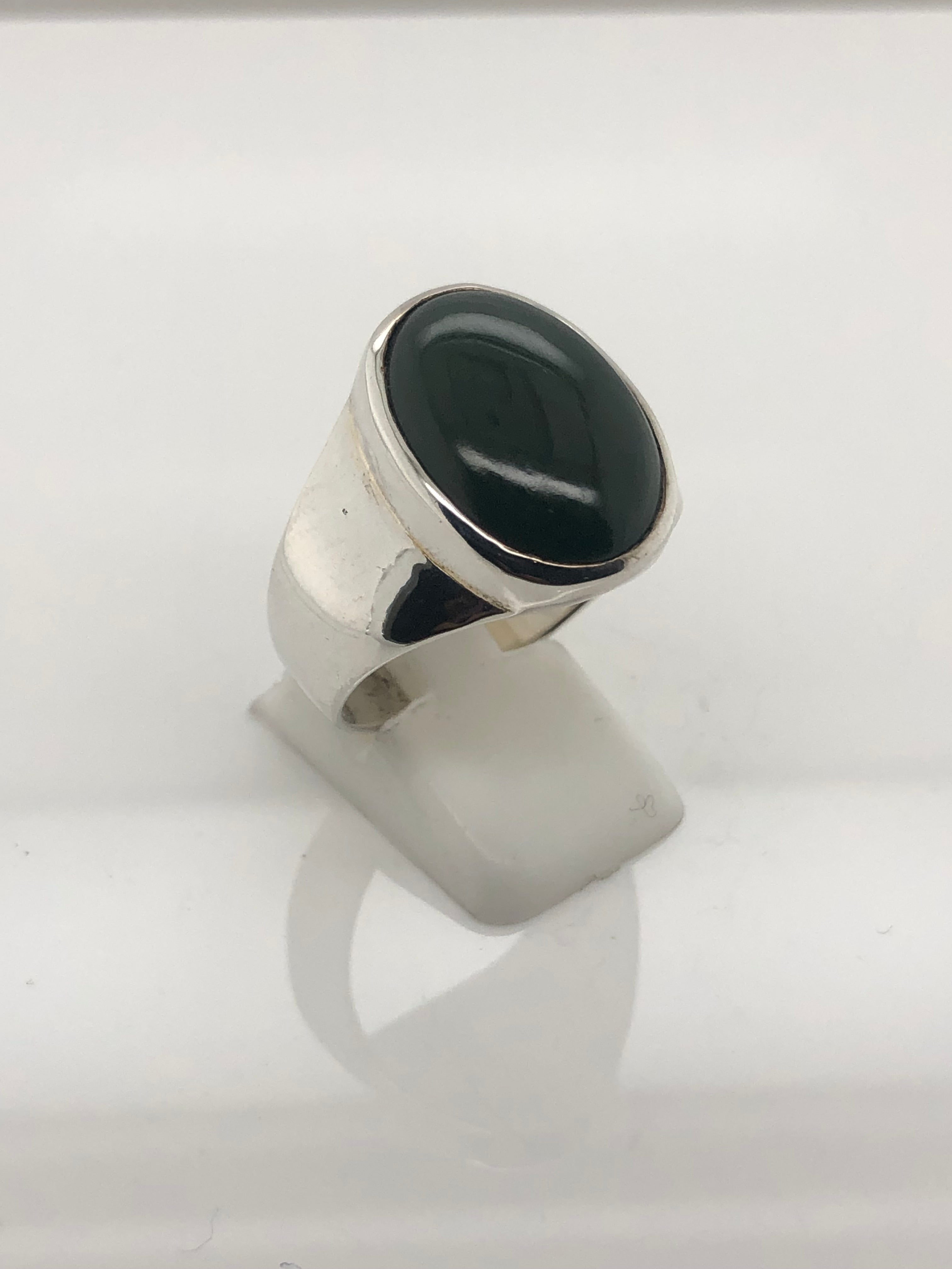 Gents Sterling Silver Ring 014