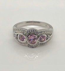 Ladies Sterling Silver Ring 002