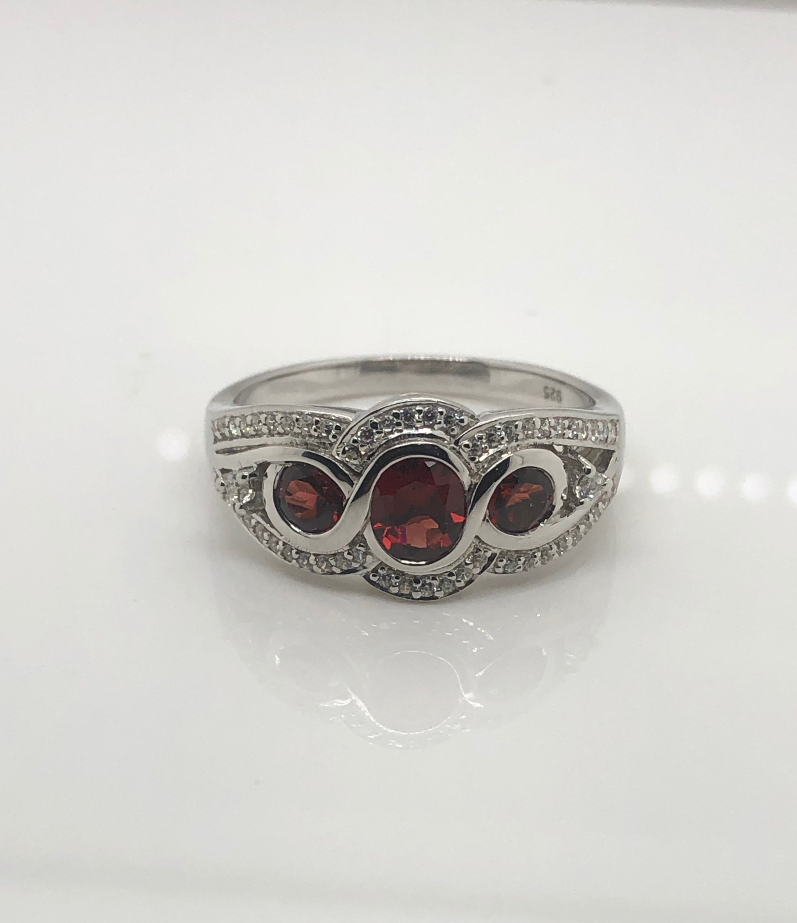 Ladies Sterling Silver Ring 004