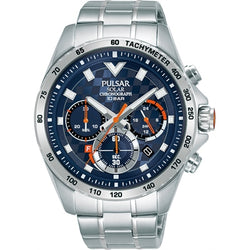 Pulsar Solar PZ5101X Chronograph WR100M Mens Watch