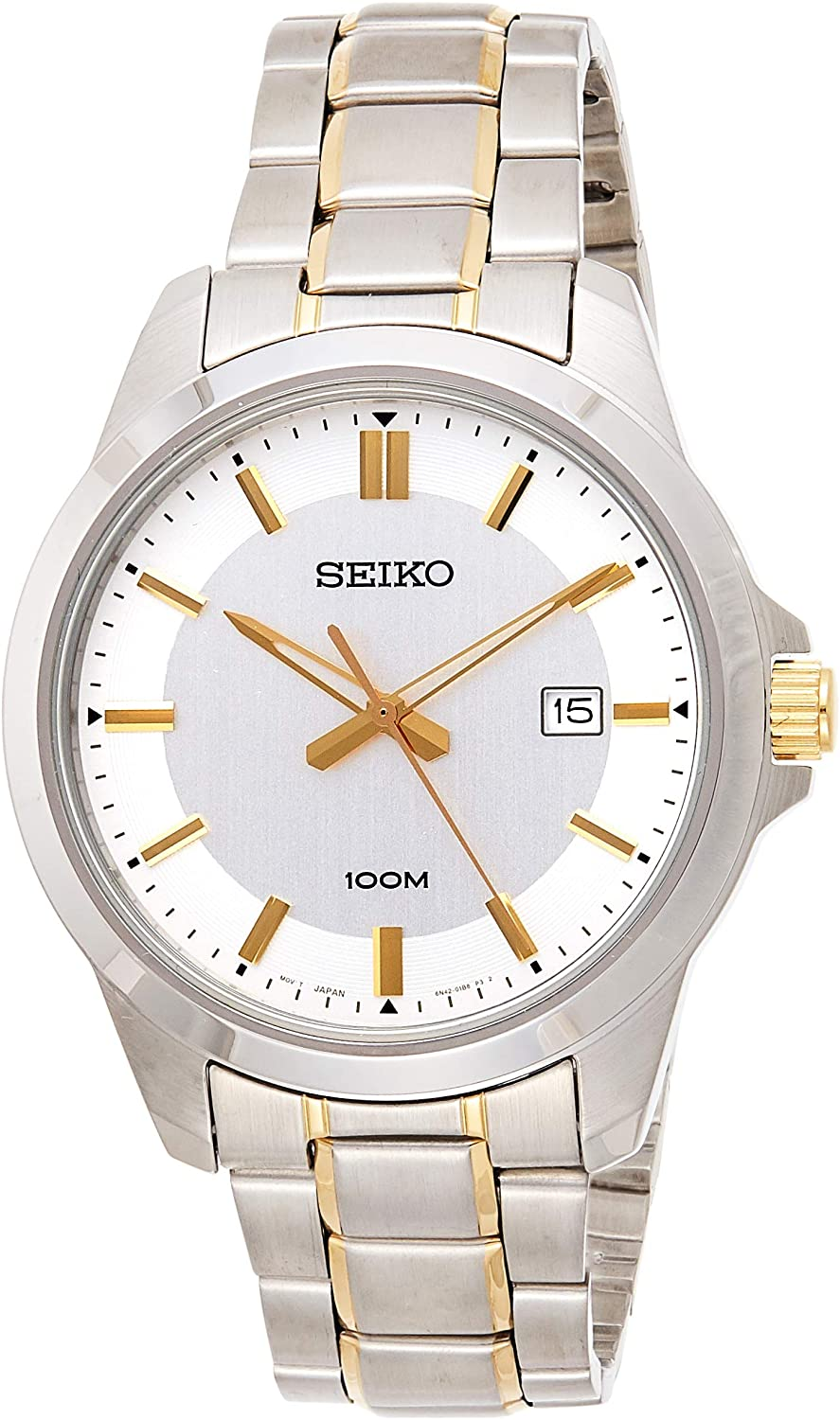 Seiko Gents Stainless Steel Band Watch SUR247P1