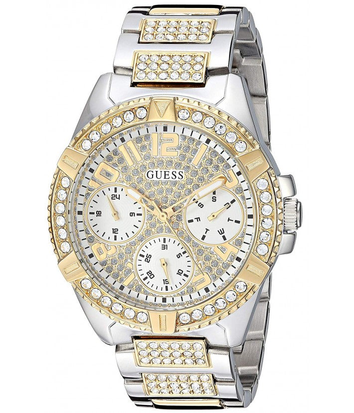 Lady Frontier Quartz Crystal Gold Dial Ladies Watch W1156L5