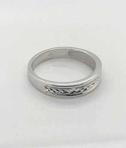 Gents Sterling Silver Ring 007