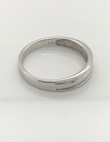 Gents Sterling Silver Ring 008