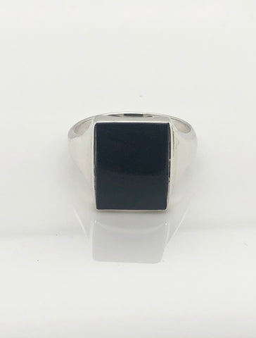 Gents Sterling Silver Ring 009