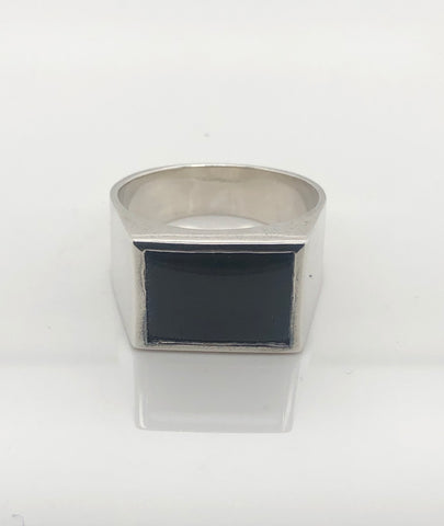 Gents Sterling Silver Ring 012