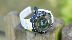 CASIO G-SHOCK G-SQUAD GBDH1000-1A7 equipped with heart rate monitor and GPS