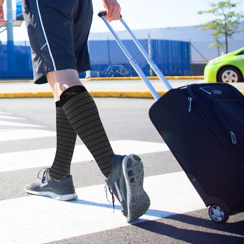 The Benefits of Compression Socks for Travel and Flights