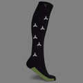 RUN+ REFLECTIVE COMPRESSION SOCKS