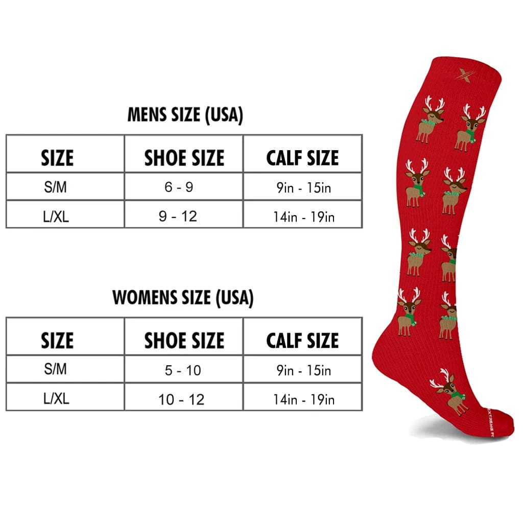 STOCKING STUFFERS COMPRESSION SOCKS (3-PAIRS)