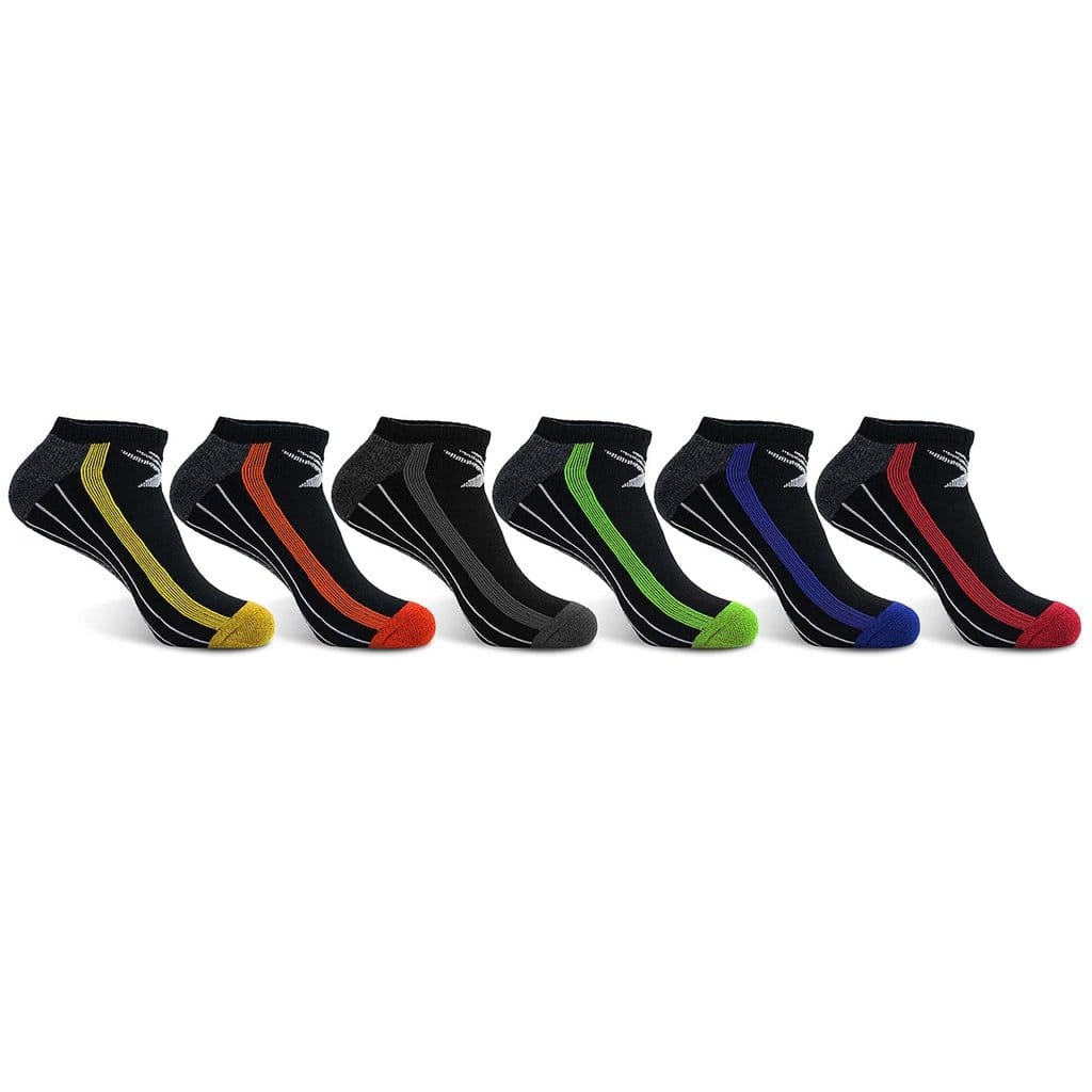 Elite III Performance Low-Cut Cushion Socks (6-PAIRS)