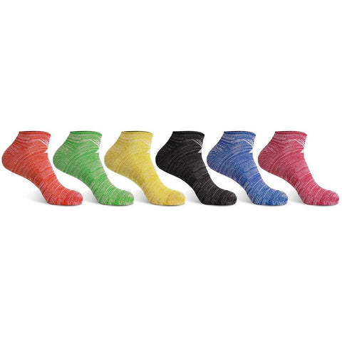 <b>6-PAIRS</b><br>Dri-Fit Performance Cushion Low-Cut Socks