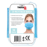 Disposable 3-Layer Protective Face Mask (10-Pack)