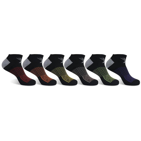 <b>6-PAIRS</b><br>Super Lite Cushion Low-Cut Socks