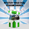 BOYS FACE MASKS GRAB BAG - NON-MEDICAL (6-PACK)