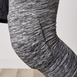 LEG COMPRESSION SLEEVE WITH PADDED KNEE SUPPORT