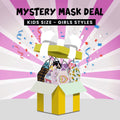 GIRLS FACE MASKS GRAB BAG - NON-MEDICAL (6-PACK)