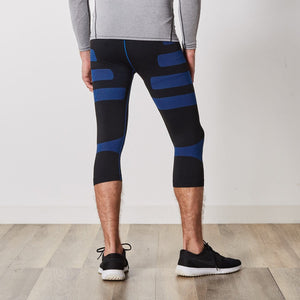 Men's Compression Leggings with Targeted Compression