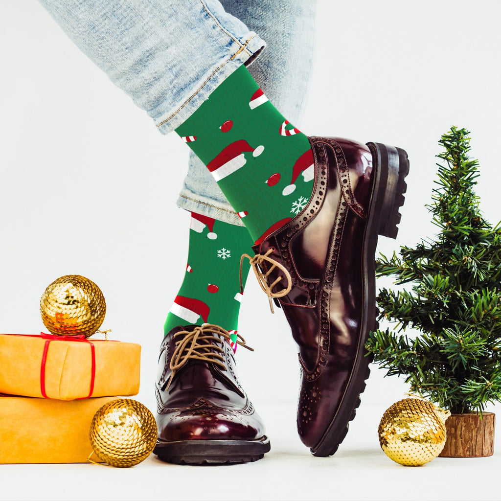 HOLIDAY NECESSITIES COMPRESSION SOCKS (3-PAIRS)