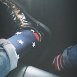 mmV1 USA PRIDE COMPRESSION SOCKS