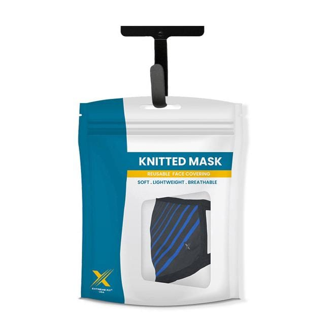 Ultra V-Striped - Reusable & Washable 2-Layer Cloth Masks (3-Pack)
