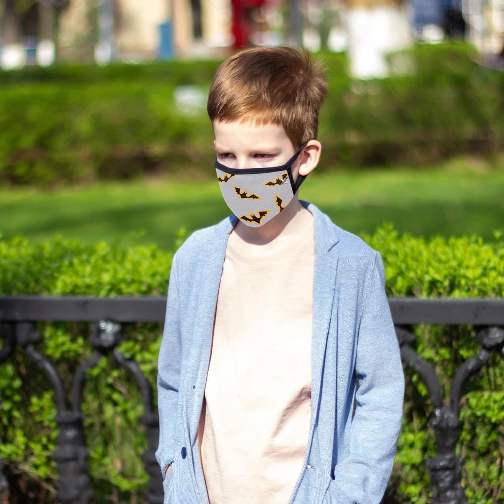 Halloween Themed Kid's Face Masks (3-Pack)