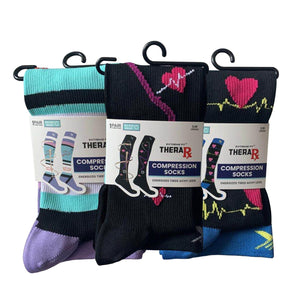 LOVE & CARE COMPRESSION SOCKS (3-PAIRS)