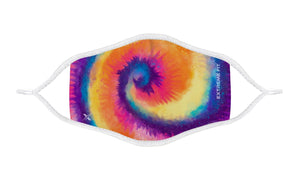 3-PACK: TIE DYE Kid's Reusable Dual Layer Face Masks , Non-Medical
