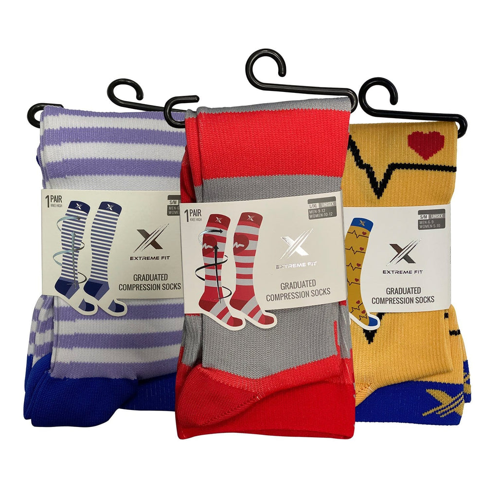 CARDIA COMPRESSION SOCKS (3-PAIRS)