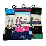 NURSE INSPIRED COMPRESSION SOCKS (3-PAIRS)