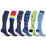 MEN'S COLLECTION COMPRESSION SOCKS (6-PAIRS)