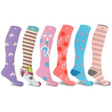 WOMEN'S COLLECTION COMPRESSION SOCKS (6-PAIRS)