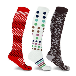 CASCADA COMPRESSION SOCKS (3-PAIRS)
