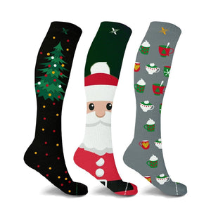 CHRISTMAS PARTIES COMPRESSION SOCKS