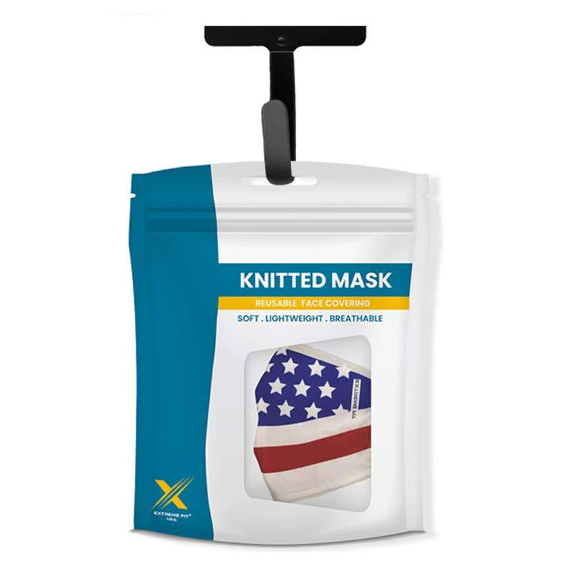 Stars & Stripes (3-Pack) - Printed Washable & Reusable Cloth Masks