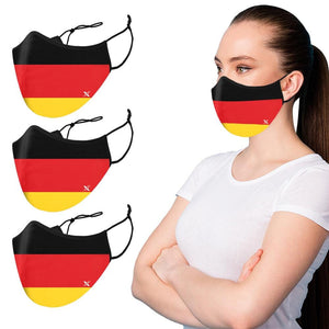 Germany Flag - Washable & Reusable Cloth Mask
