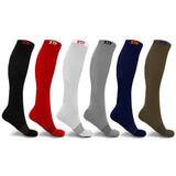 BASIC COLORS COMPRESSION SOCKS (6-PAIRS)
