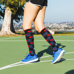 WOMEN'S COMPRESSION SOCKS (6-PAIRS)
