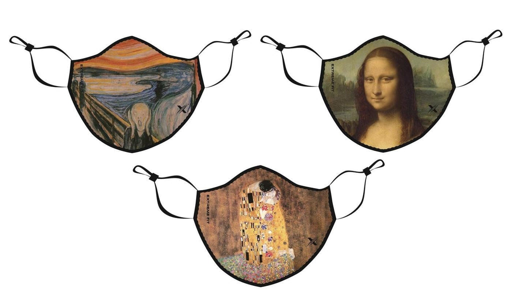 Inspired By Art (3-Pack) - Washable & Reusable Cloth Masks