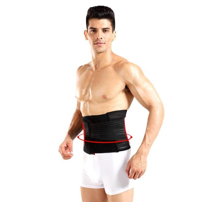 Adjustable Double-Compression Waist-Slimming Belt
