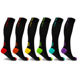 POE COMPRESSION SOCKS (6-PAIRS)